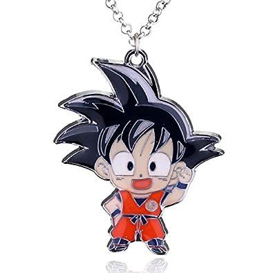 Collar Hombre Dragon Ball Llavero Metal Son Goku Super ...