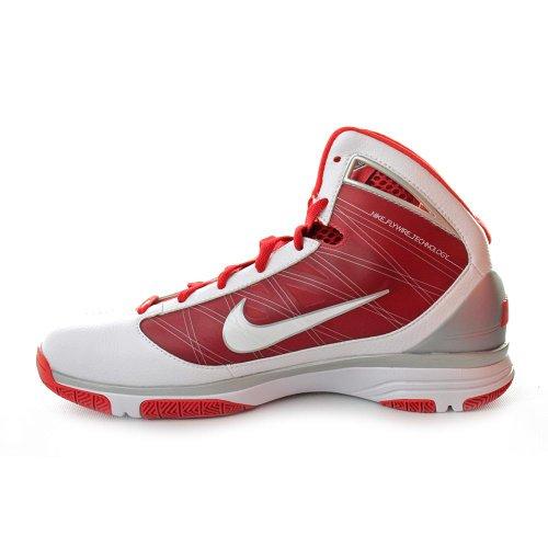 Nike - Camiseta con manga corta, todo el año, hombre, color - Weiß-Rot/Silber, tamaño US 9 | EU 42,5
