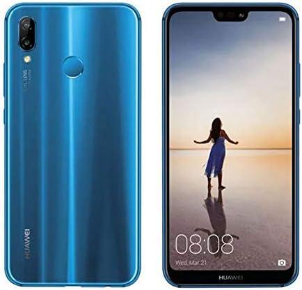 Huawei P20 Lite 64GB Single-SIM (GSM Only, No CDMA) Factory Unlocked 4G/LTE Smartphone (Klein Blue) - International Version