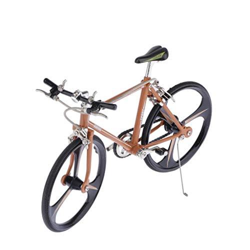 [해외]Toygogo Realistic Bicycle 1:10 Scale 3D Metal Road Bike Model Kit Gift for Bike Model Lover or Collector for Shopwindow Display or Coffee Bar Ornaments / Toygogo Realistic Bicycle 1:10 Scale 3D Metal Road Bike Model Kit, Gift for B...