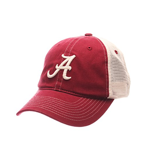 NCAA Alabama Crimson Tide Men's Side Out Relaxed Cap, Adjustable, (Relaxed 3d Adjustable Cap)