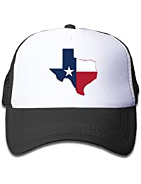 Adjustable Caps Children Texas Flag Austin City Skyline Trucker Mesh Hats