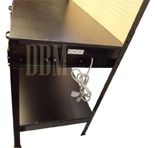 Multipurpose Workbench Cabinet Light Garage Workstation Tool Holder Storage by Generic (Image #5)