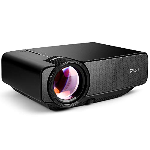 RAGU Z400 Mini Projector, Multimedia Home...