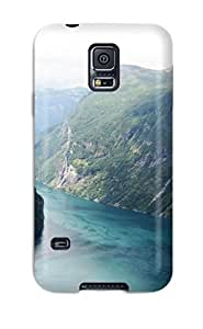 SbEdjBr7666EQmBd Anti-scratch Case Cover CaseyKBrown Protective Beautiful Fjord Norway Case For Galaxy S5