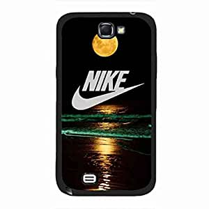 Nike Phone Cover,Samsung Galaxy Note2 Cover,Nike Samsung Galaxy Note2 Phone Funda Hard Plastic Phone Funda,Brand Logo Phone Funda