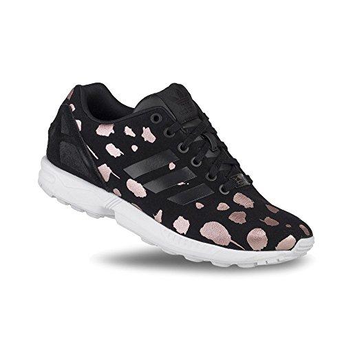 Adidas Zx Flux W - S76603 Vit-svart-rosa