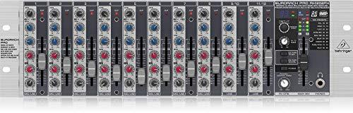 (Behringer Eurorack Pro RX1202FX Premium 12-Input Mic/Line Rack Mixer)