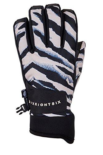 686 Women's Crush Glove | Waterproof Ski and Snowboard Glove | Ghost Rose - L