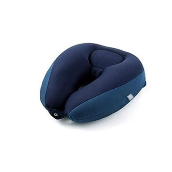 Amazon.com: Cojín en forma de U para viaje, almohada para el ...