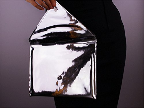 Flada, Poschette giorno donna argento Silver medium