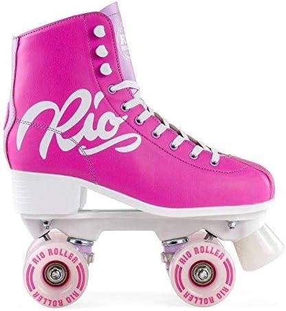 5 Rio Roller Script Roller Skates Pink//Lilac