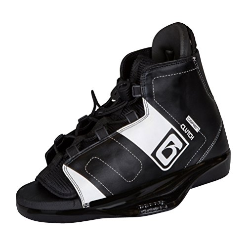 O'Brien Clutch Wakeboard Bindings 2017 - 8-11/Black-White