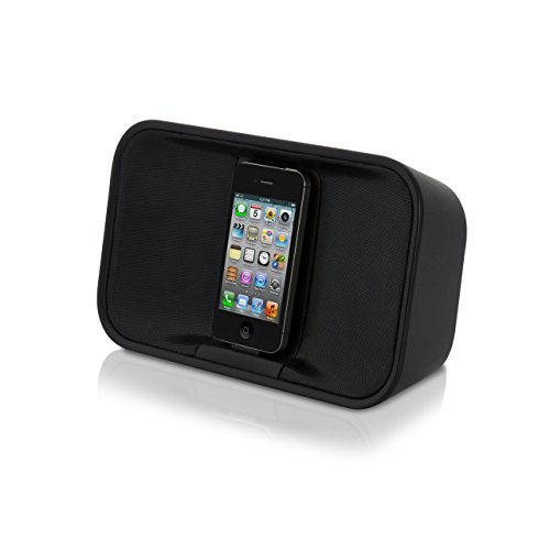 Memorex MA7221 Portable Stereo Speaker System for iPod and iPhone (Renewed)
