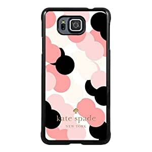 customized Samsung Galaxy Alpha Case Cover, Fashion Stylish DIY Kate Spade 132 Black Case Cover For Samsung Galaxy Alpha