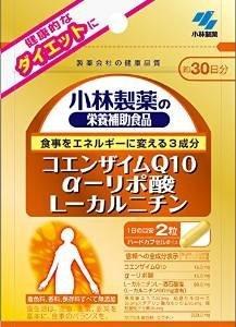 小林製薬 小林製薬の栄養補助食品コエンザイムQ10α-リポ酸L-カルニチン60粒×5袋 B00LUF4CGC