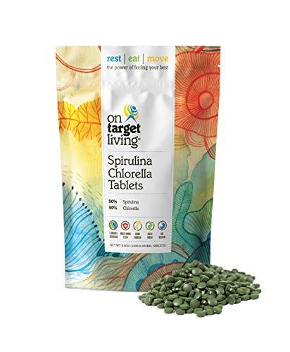 Target Living Spirulina Chlorella Tablets product image