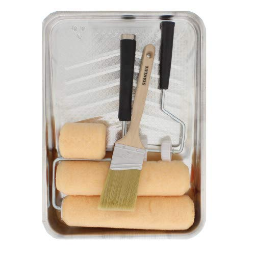 STANLEY PTST03508 8 Piece Paint Kit, TAN ()