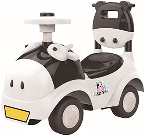 折りたたみ式キックスクーター、車1-3歳の子供スクーターバランスバイク電車の赤ちゃん4ホイールの赤ちゃんシャイニング・ウォーカー車のおもちゃ子供ライド 高さ調節可能 (Color : 1)