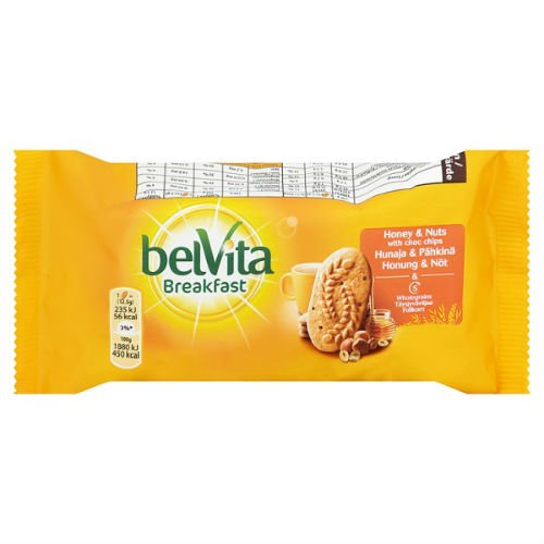 Belvita Breakfast Biscuits Honey And Nuts Case Of 20 50G