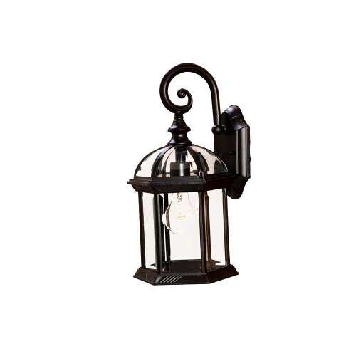 Acclaim 5271BK Dover Collection 1-Light Wall Mount Outdoor Light Fixture, Matte Black