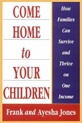 Book Come Home to Your Children by Frank Jones (1998-10-06)