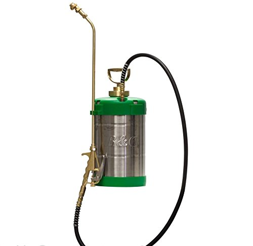 B&G Green Sprayer 1 Gal. 18'' Valve C&C Tip (N124-CC-18) by DPD