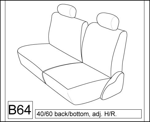 1993 chevy truck seats - 1