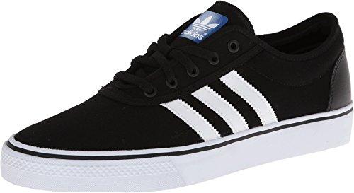 adidas Originals Men's Adi-Ease Skate Shoe,Black/White/Black,11 M US