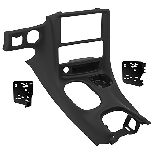 Harness Chevy Corvette - Metra DP-3021B Black Double DIN Stereo Dash Kit for 1997-2004 Chevrolet Corvette