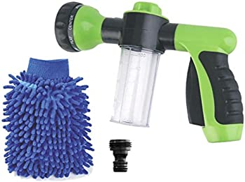 Buyplus Upgraded 2018 High Pressure Garden Hose Foam Nozzle