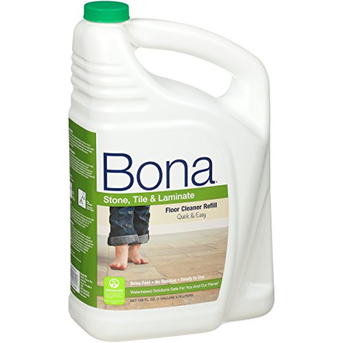 Bona® Stone, Tile & Laminate Floor Cleaner Refill 128oz (Pack May Vary) (Bona Stone Tile)