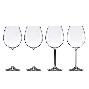 Food & Wine For Gorham The Entertainer Wine Glasses, Red, Set of 4