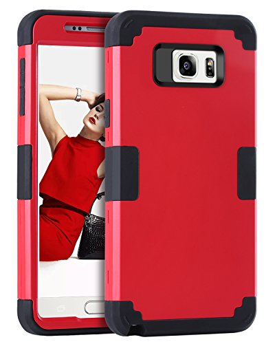 Slim Shockproof Case for Samsung Note 5 (Black) - 6