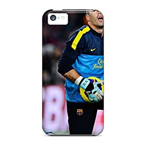 New The Best Goalkeeper Of Barcelona Victor Valdes Tpu Case Cover, Anti-scratch Michlles Phone Case For Iphone 5c