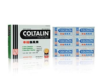 Amazon Com Coltalin Cold Tablet Adults Fortune Coltalin Brand