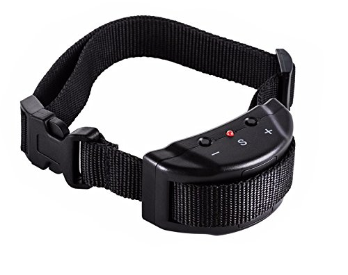 Heavy Duty Tough Bark (No Bark Shock Collar for Dogs - Heavy Duty Water Resistant Anti-Barking Dog Collar with Ultrasonic Warning Sound - Small, Medium, Large - Very Durable)