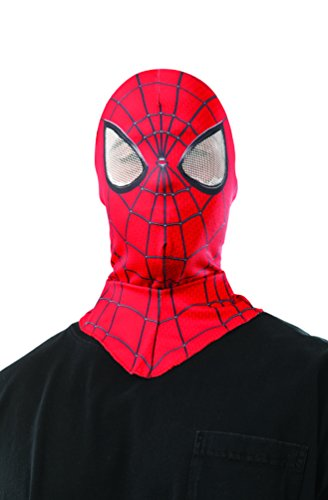 Rubie's Costume Men's The Amazing Spider-man 2 Adult Spider-man Costume Hood / Overhead Mask, Multi, One (Spiderman Amazing Costumes)