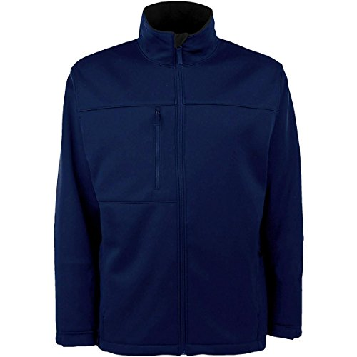 Antigua MEN'S TRAVERSE FLEECE-BACK FULL-ZIP JACKET (Antigua Fleece)