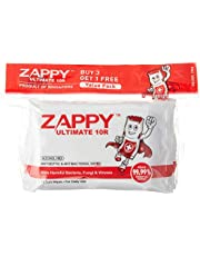 Zappy Ultimate Antiseptic 10R Wipes Value Pack, 10 ct