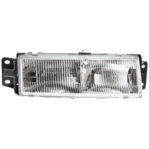 Oldsmobile Cutlass Ciera Headlight Headlamp - Garage-Pro Headlight for OLDSMOBILE CUTLASS CIERA 91-96 RH Assembly Halogen