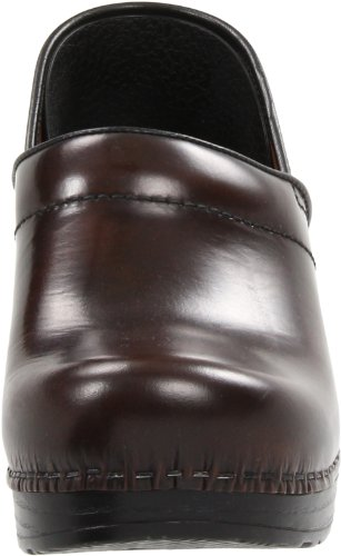 Dansko Women's Professional Pro Cabrio Leather Clog Hickory o82LlPtd