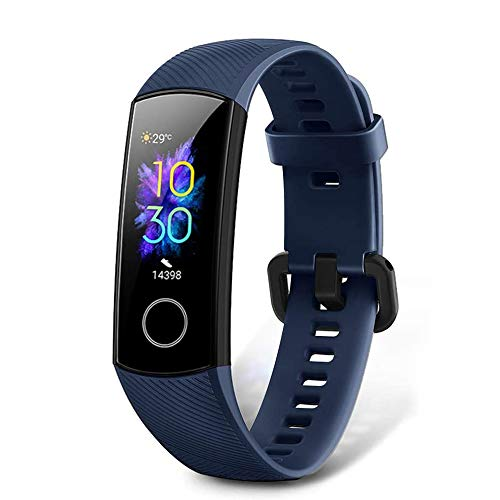 Honor Band 5 Fitness Tracker, Activity Tracker with SpO2 Monitor Heart Rate and Sleep Monitor Calorie Counter Pedometer Step Tracker Bracelet for Men Women Kids