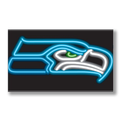 Imperial Sign Neon (Imperial Officially Licensed NFL Merchandise: Neon Sign, Seattle Seahawks)