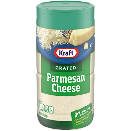 Kraft Parmesan Cheese Shaker (8 oz Bottle)