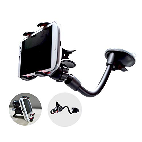 - MChoice Universal 360° New Long Arm Car Windshield Suction Mount Holder Stand for Smartphone