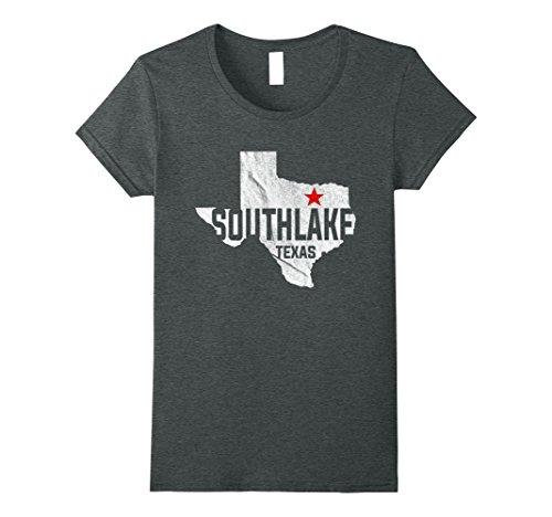Womens Southlake Texas - Vintage State of Texas T-Shirt XL Dark - The Of Southlake Shops