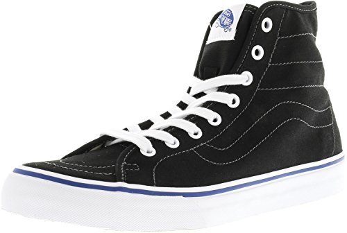 Vans Damen SK8-Hi Dekon Hight Top Schnür Mode Turnschuhe (Leinwand) Schwarz / True White