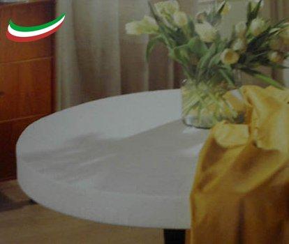 Mollettone Salvatavolo Copritavolo Elasticizzato antimacchia antigraffio antitaglio MADE IN ITALY cm 120x180 Tata Home