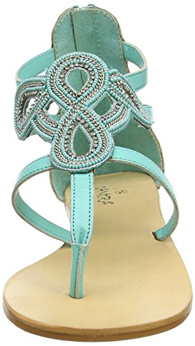 Beads With Sandals Green Para Strap Tantra Sandalias Mujer aBAtnq